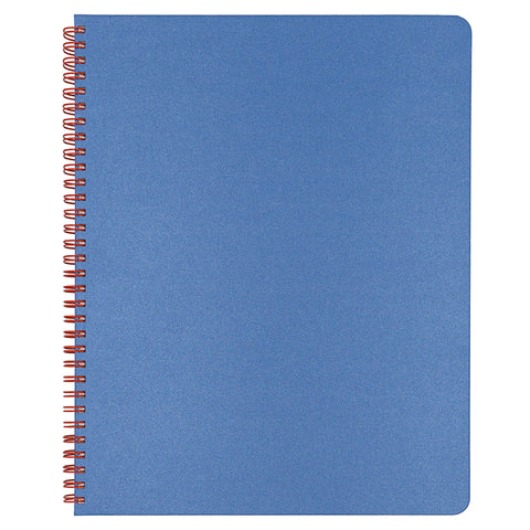 Blank Slate- Ocean Blue Notebook in Large Size