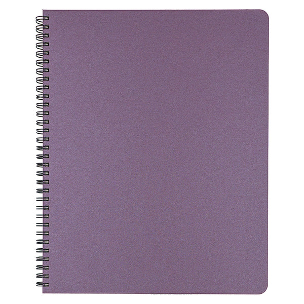 Blank Slate- Plum Notebook in Large Size