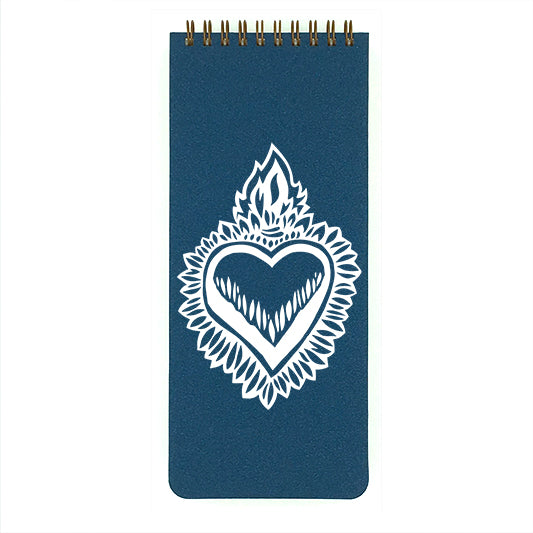Milagro Flaming Heart List Pad