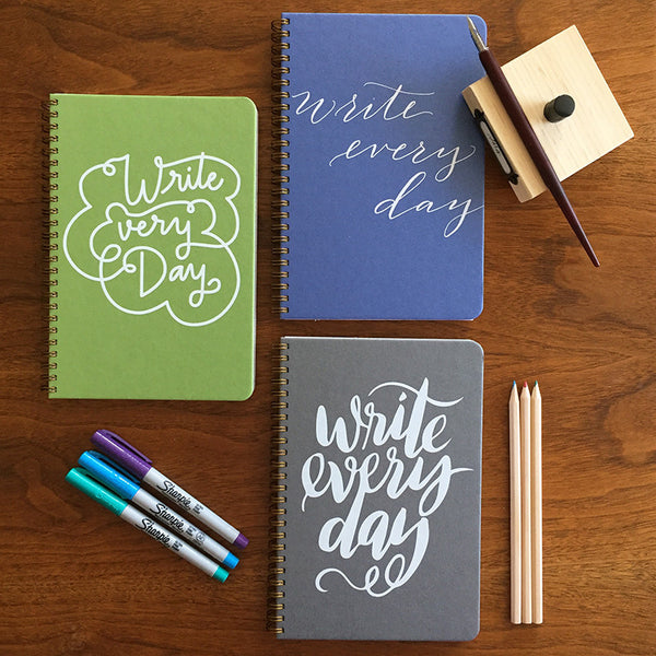 Write Every Day | 3 Notebook Set