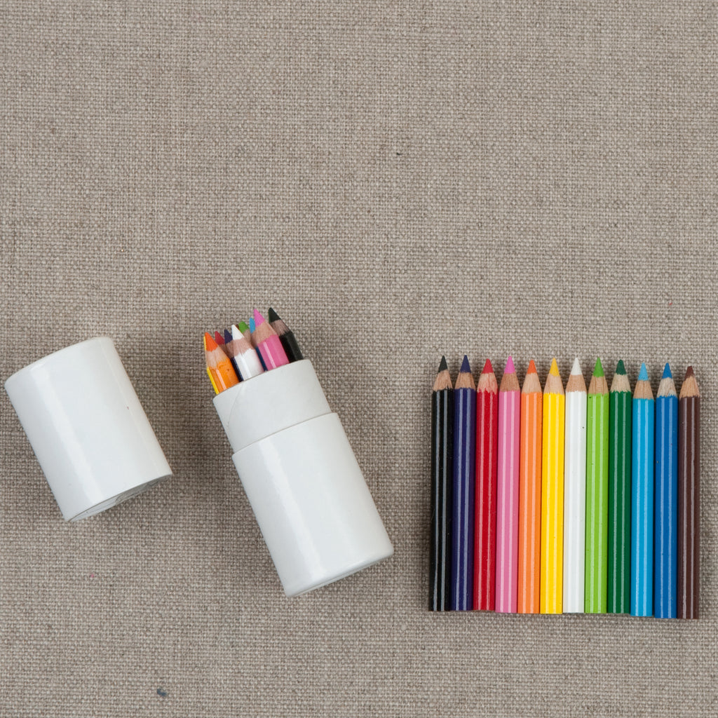 Mini Colored Pencil Capsule Set of 12