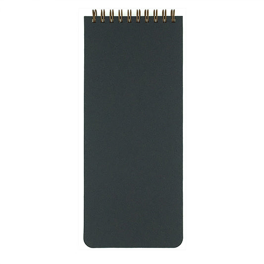 Black Blank Slate List Pad