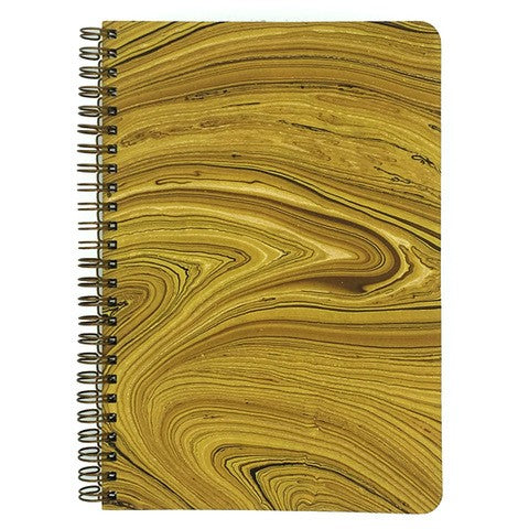 This Marbled Yellow cover has gold and brown accents.