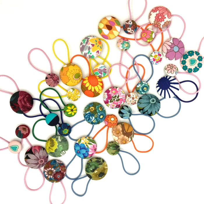 Rainbow Lucky Dip Hair Accessories - 6 PACK