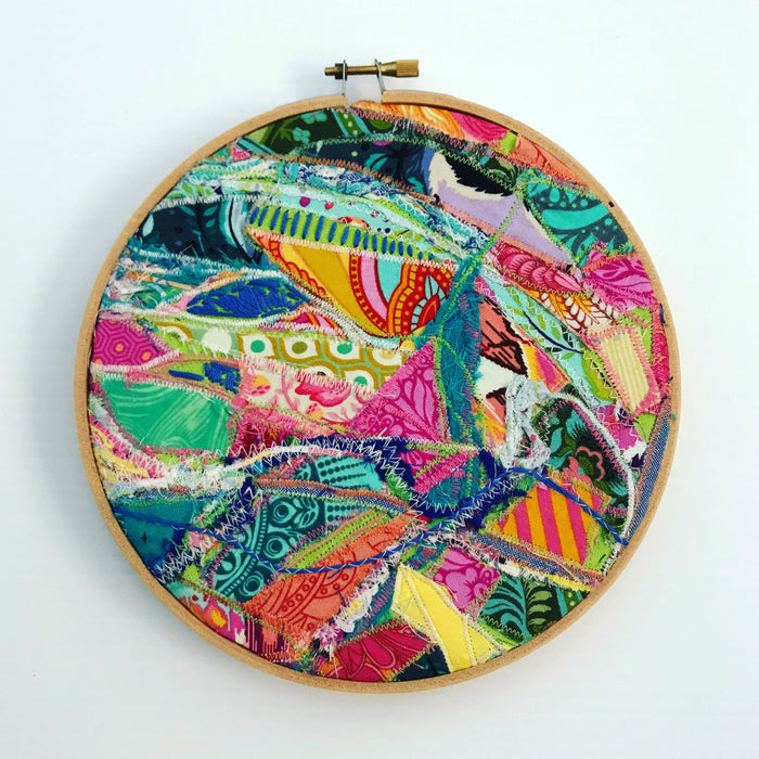QUIRKY EMBROIDERY HOOP ART 7 INCH