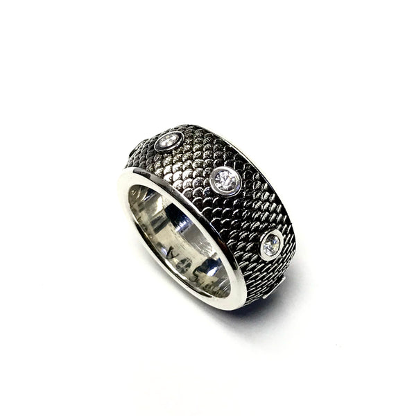 Men's Eternity Wedding Band With Natural Diamond