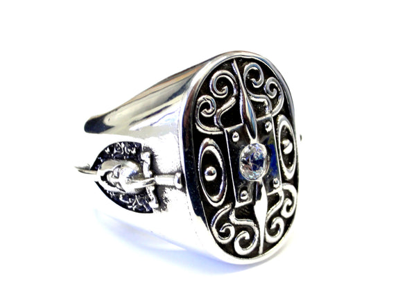 Men's Diamond Ring  By Sacred Angels