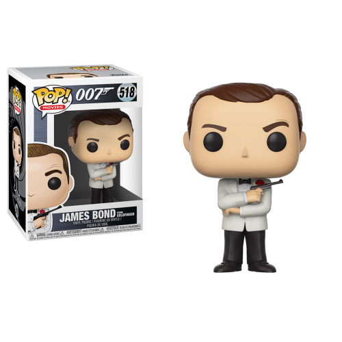 James Bond: SEAN CONNERY as 007 POP 518
