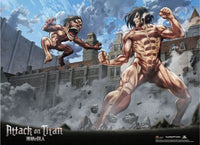 Attack on Titan - Titan VS. Titan Eren (Long Premium Wall Scroll)