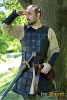 Black Leather Brigandine Armor