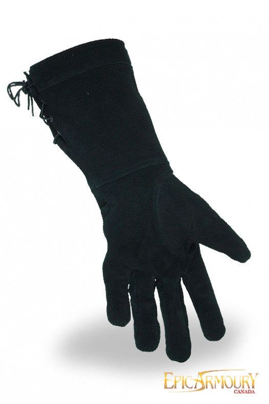 Suede Fencing Gloves