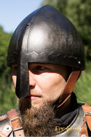 Norman Nasal Helmet Epic Dark