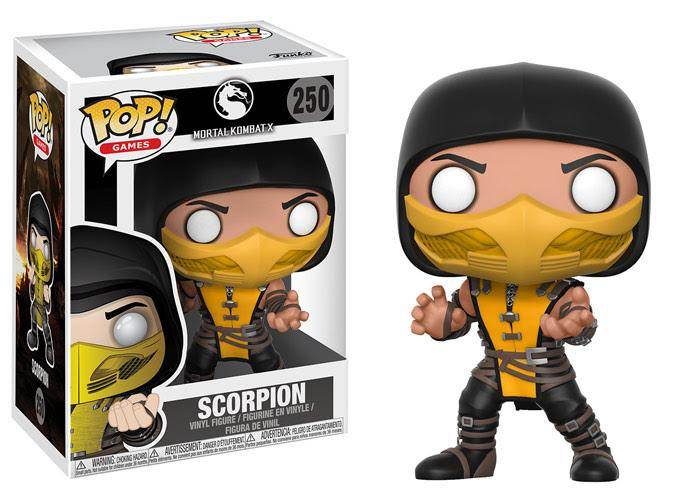 MORTAL KOMBAT SCORPION POP!