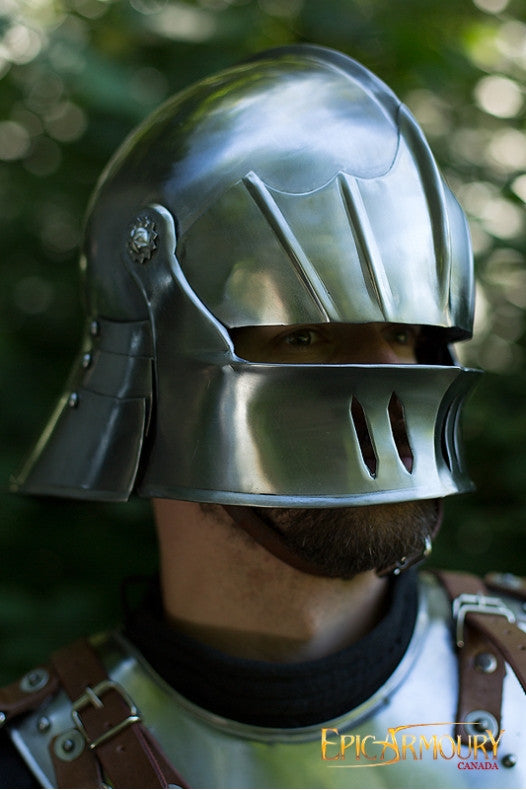 Gothic Polished Sallet