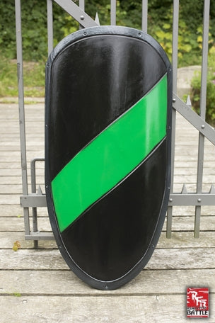 Large RFB Shield, Black and Green