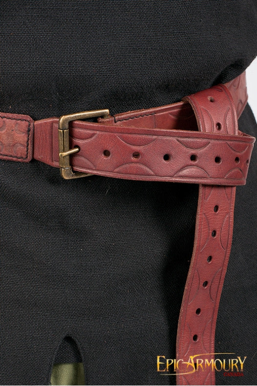 Leather Aruthian Belt