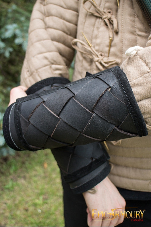 RFB Viking Bracers (Black/Brown)