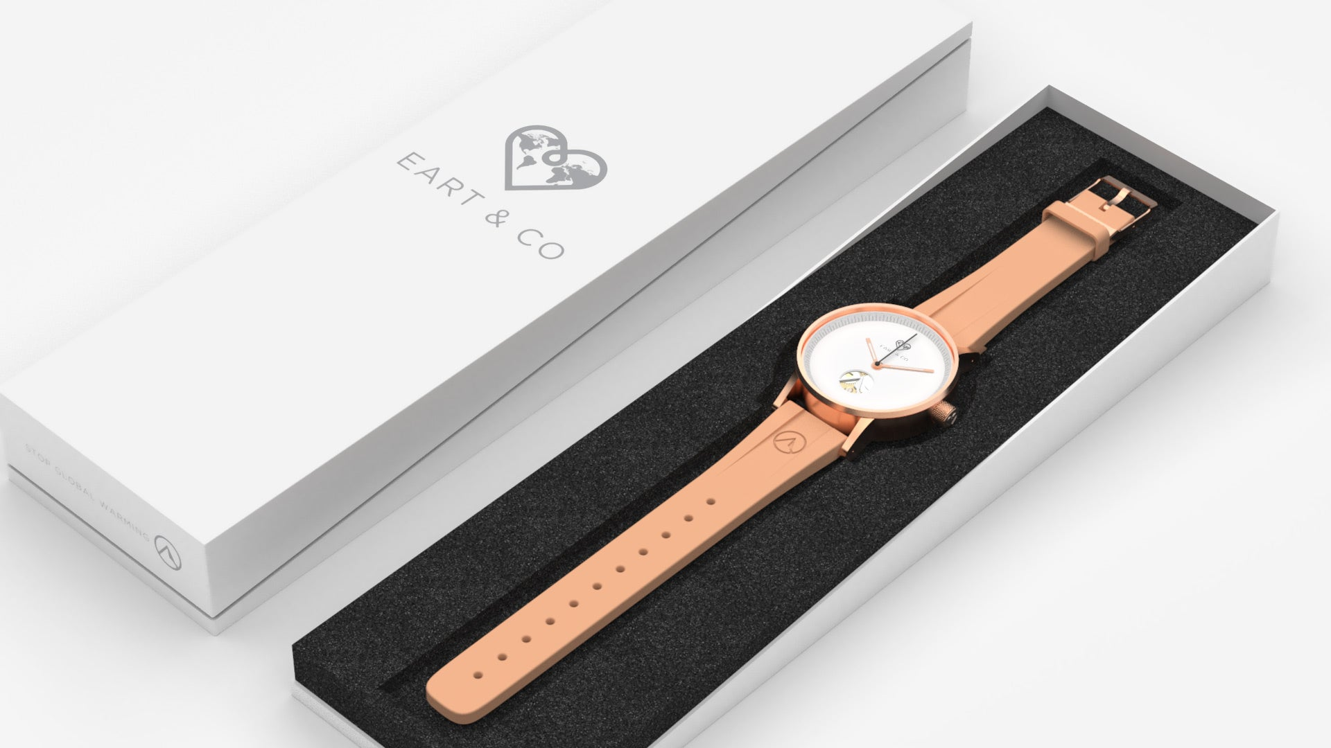EART & Co Watch | Rose Gold | 42 mm