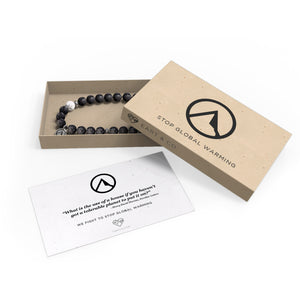 Lava Stone Bracelet | Fight Global Warming