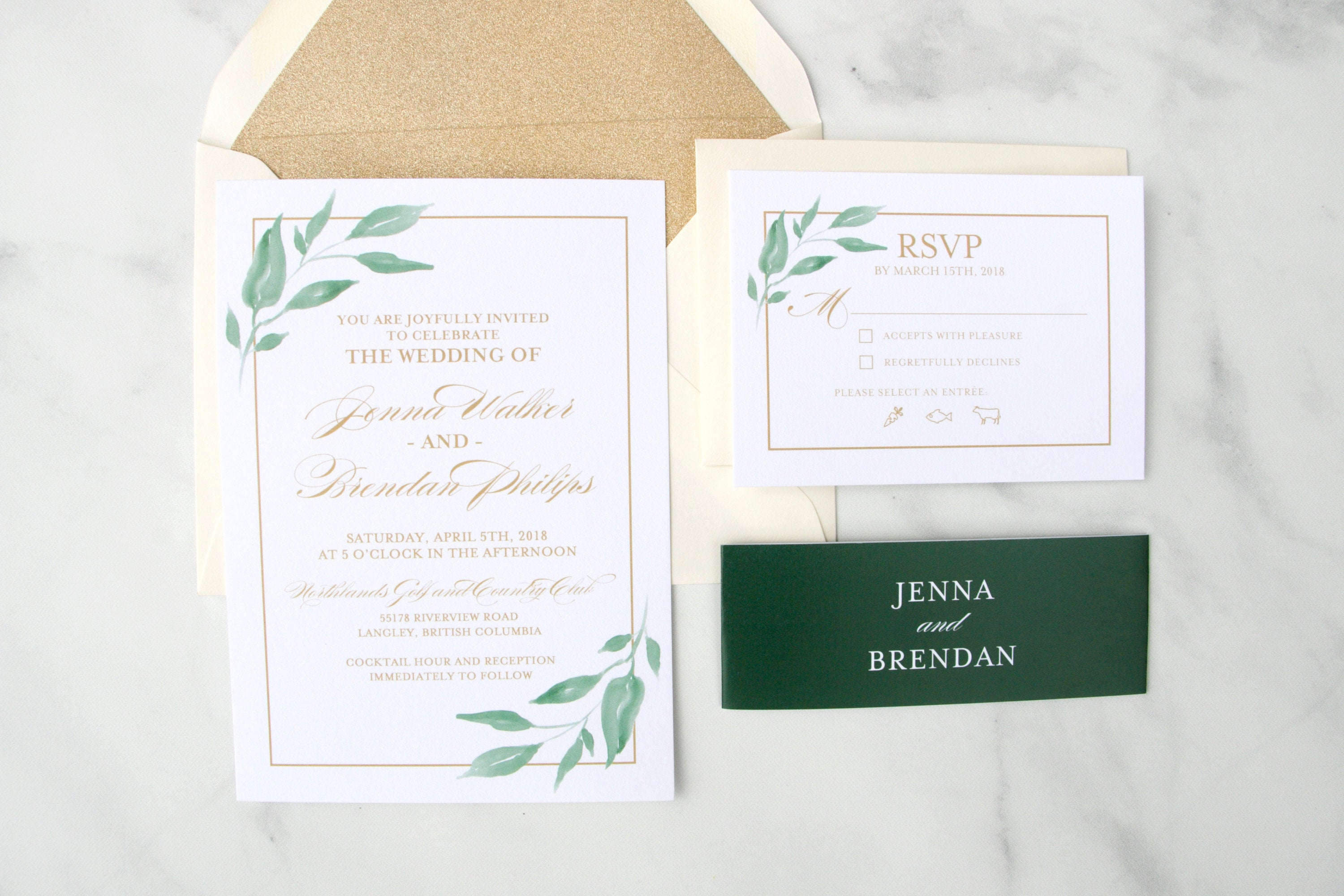 Printed Wedding Invitations