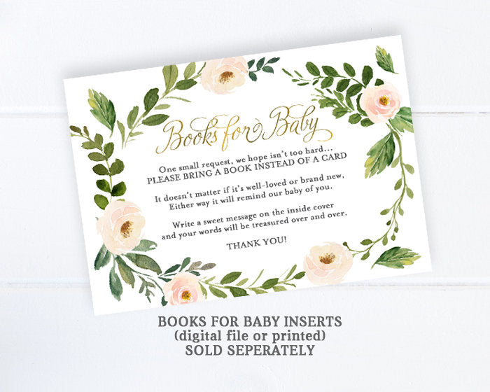 Gender Neutral Baby Shower Invitations Soft Yellow Floral Greenery And Gold Baby Shower Invitation Baby Shower Invite Floral Baby Shower
