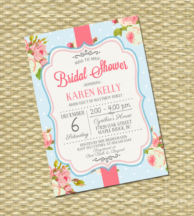 Shabby chic baby shower invitation baby girl shower pink roses shabby chic baby shower invitation baby girl shower pink roses floral baby shower tea party sip and see baby sprinkle any event filmwisefo