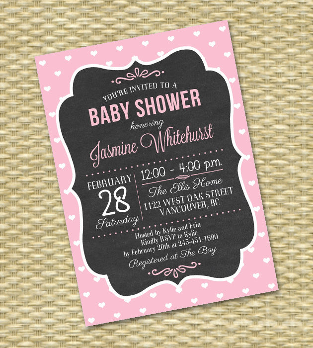 Chalkboard baby shower invite gender neutral baby shower invitation chalkboard baby shower invite gender neutral baby shower invitation baby girl baby boy baby sprinkle printable any color any event filmwisefo
