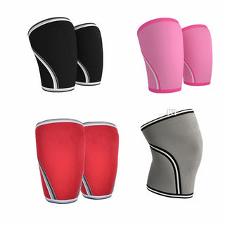 7mm Heavy Duty Neoprene Compression Knee Sleeves - StrengthBand.com