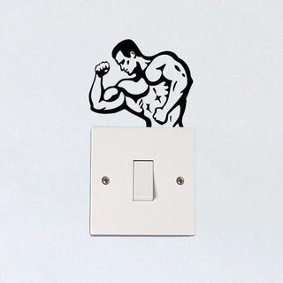 Bodybuilding Sticker