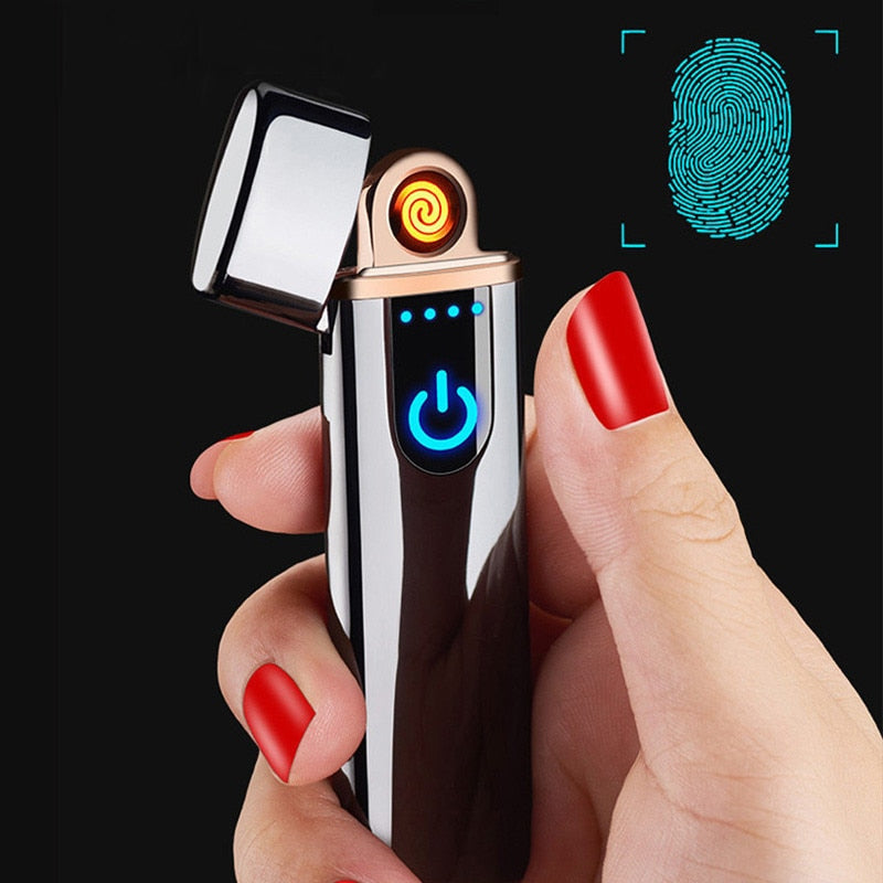 Smart Touch Coil Electric Lighter