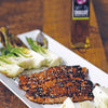 Blackened Asian Salmon with Pan Roasted Bok Choy