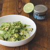 Cucumber & Avocado Salad with Tequila Poppy Seed Vinaigrette