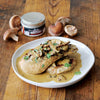 Pan Roasted Chicken with Mushroom Cream Sauce
