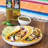 Mexican Chimichurri Shrimp Tacos