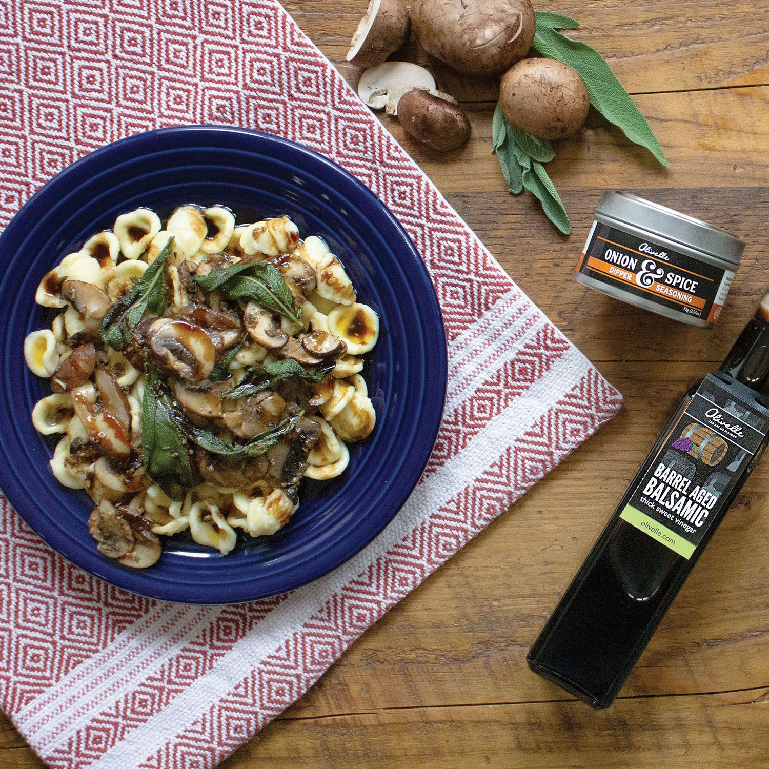 Orecchiette with Brown Butter, Sage, & Mushroom - Recipe Gift Kit