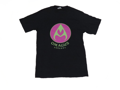 Pink and green Omagus t-shirt