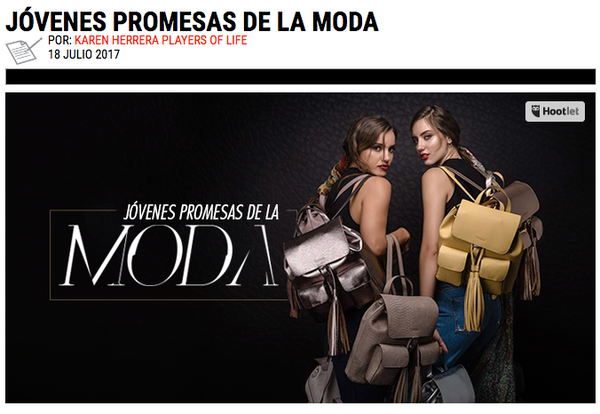 Jóvenes Promesas de la Moda by Players of Life