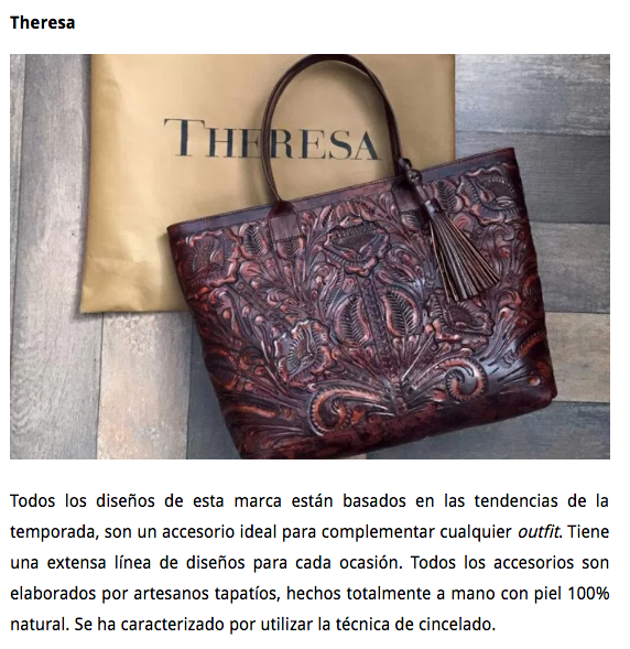 Talento mexicano plasmado en sofisticados bolsos by The Happening
