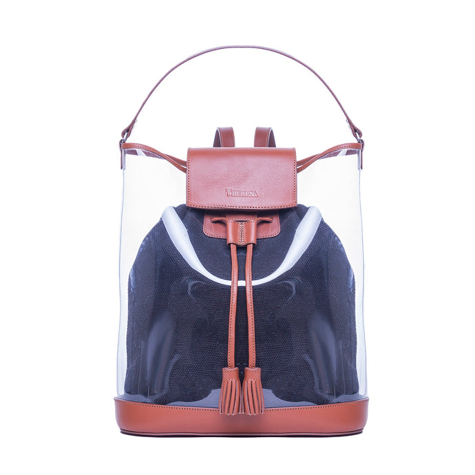 Backpack PVC Manta Negra