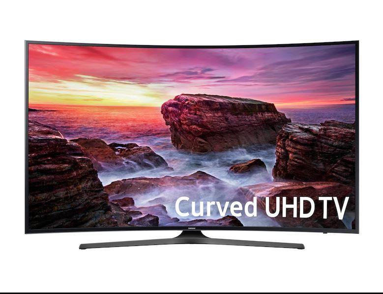 "Samsung Smart TV 55"" Curved 4K(Refurbished)"
