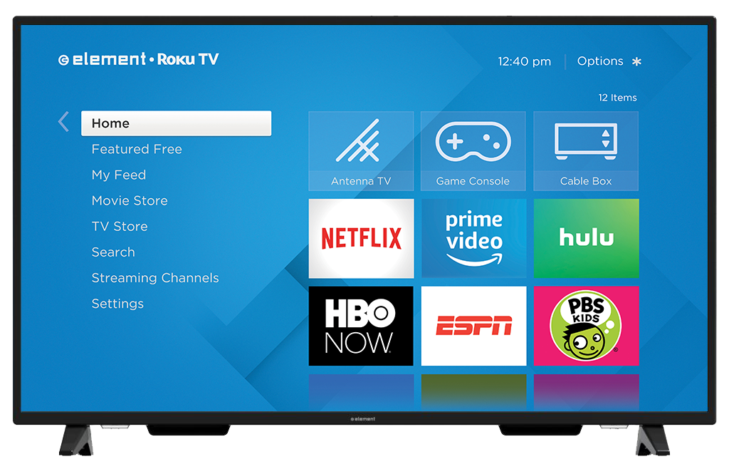 "ELEMENT Smart TV 55"" LED 4K(Refurbished)"