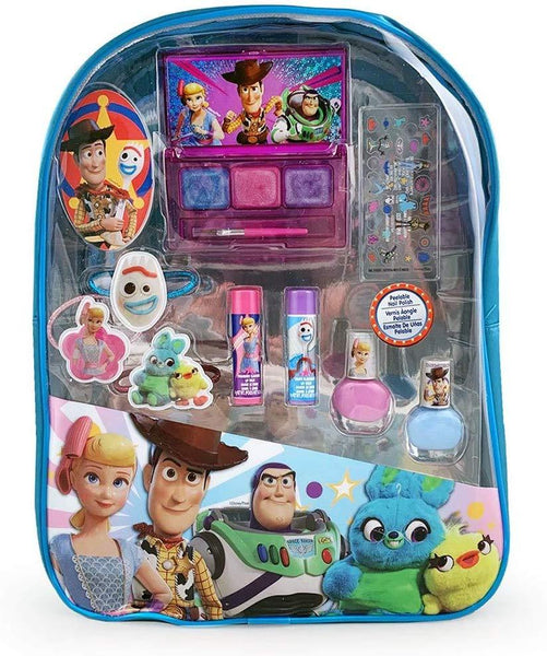 Disney Pixar Toy Story 4 Movie PVC Cosmetics Backpack Kit