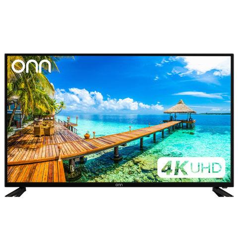 "ONN TV 50"" LED 4K - Ultra HD(Refurbished)"