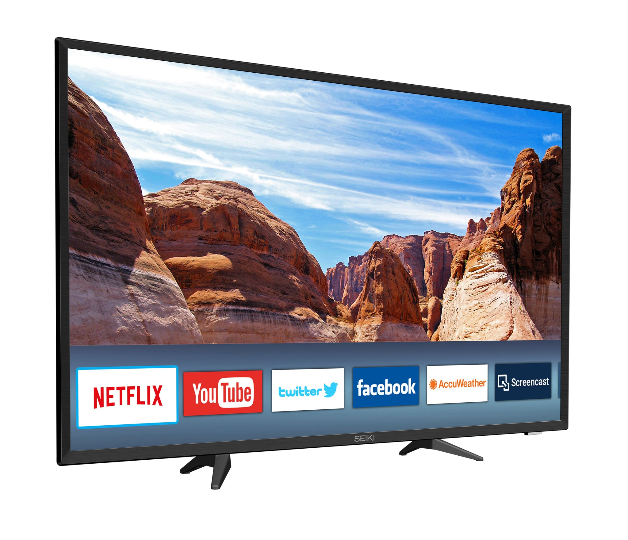 "Seiki TV 40"" Smart TV LED(Refurbished)"