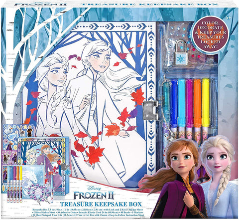 Frozen 2 Keepsake Box Craft Kit for Storage Activity