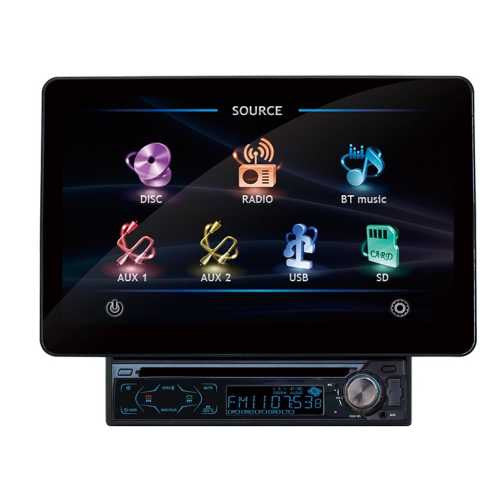 "zx - Absolute  Autoestereo Con Dvd 11"" Bluetooth Usb-Aux Mp3"""""""