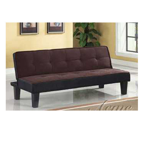 Acme Sofa,  Futon Chocolate
