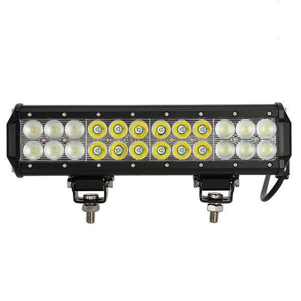 AUXBEAM BARRA LED FLOOD DE 12 PULGADAS/72 WATTS/IMPERMEABLE/ALTAMENTE RESISTENTE