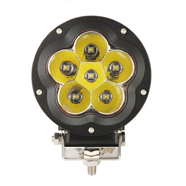 AUXBEAM BARRA DE LUZ LED SPOT-FLOOD DE 5 PULGADAS/60 WATTS/IMPERMEABLE/ALTAMENTE RESISTENTE