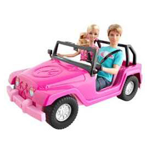 Barbie Jeep, con Ken, Mattel